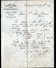 "CLERMONT-FERRAND (63) TISSUS en gros ""Adolphe JOURNIAC / PONT & LABBE Succ"" 1897"