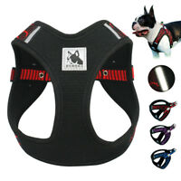 Reflective Pet Dog Harness No Pull Adjustable Soft Padded Mesh Dog XS S M L Walk