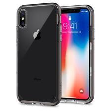 Spigen iPhone X Case Neo Hybrid Crystal Gunmetal