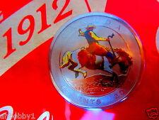 CANADA 2012 RARE Calgary Stampede - Coloured Coin and Stamp Set - RARE