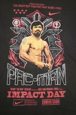 Manny Pacquiao Impact Day Boxing Pac Man Nike Dri Fit T Shirt Extra Large XL