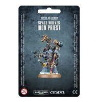 Space Wolves Iron Priest - Warhammer 40k - Brand New! 53-19C