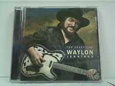"WAYLON JENNINGS ""THE ESSENTIAL"" CD USED LIKE  NEW"