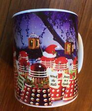 Doctor Who Daleks go Carol Singing at Christmas Mug