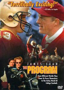 The Program DVD 1993 James Caan Halle Berry Omar Epps College Football - RARE