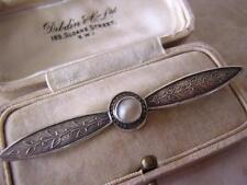 Pearl Silver Brooch/Pin Art Nouveau Fine Jewellery