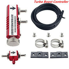Universal Car 1-30PSI Adjustable Manual Turbo Boost Controller Bleed Valve Red