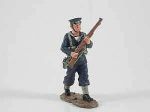 King & Country. RN Sailor Marching. Fields of Battle. FOB50. Retired. MIB