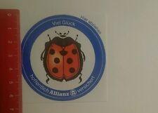 Aufkleber/Sticker: viel Glück hoffentlich Allianz versichert (24101651)