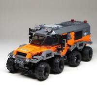 Military Series Technic All Terrain Tow Truck Set Building Blocks Bricks Model