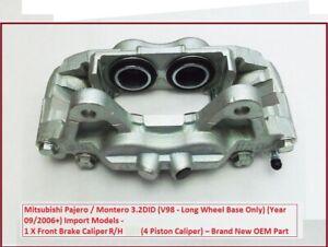 FRONT BRAKE CALIPER R/H For Mitsubishi Shogun/Pajero 3.2DID V98 LWB ONLY 2006+