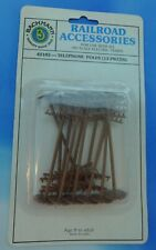 Bachmann Railroad Accessories 42102 Telephone Poles (12 Pieces) HO Scale