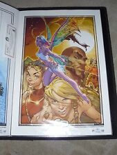 2005 ASPEN SOULFIRE #4C  ART PRINT SIGN by MICHAEL TURNER & J.S. CAMPBELL 13x19