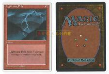 MTG MAGIC - Lightning Bolt - Fulmine - Inglese 4ª Edizione 4E MINT - 1995