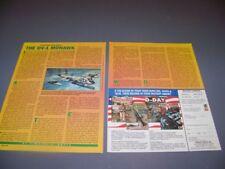 HISTORY..OV-1 MOHAWK..STORY/HISTORY/DETAILS..RARE! (675Q)