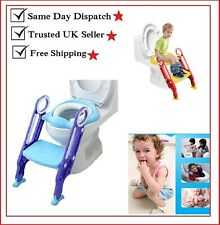 Potty Training Seat Ladder Toddler, Potty Seat Toilet for baby Boys and Girls