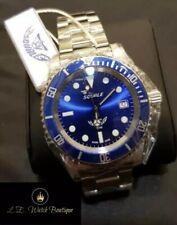 "Squale Y1545 20 ATMOS ""Blue Ray"" (aluminium bezel insert)"