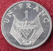 Rwanda 1 Franc 1985 (C1209)