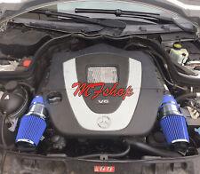 Blue For 2008-2012 Mercedes Benz C300 C350 3.0L 3.5L V6 Air Intake System Kit
