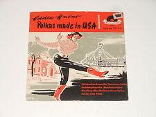 "Eddie Habat - 7"" EP-polkas Made in USA-De 1957-Polydor 20 201 EPH"