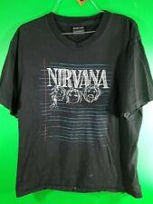 NIRVANA 1997 Kurt Cobain Graffiti Design Tshirt PLEASE READ DESCRIPTION. (26)