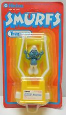 Vintage Smurfs Helm Toys Smurf Trapeze figure 1981 NIP Never opened!