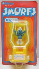 Vintage Smurfs Helm Toys Smurf Trapeze figure 1981 NIP Never opened!