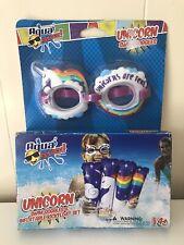 Aqua Splash Unicorn Swim Goggles And Kickfloat Set New In Box Pool Float Floatie