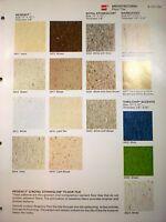 GAF GAFSTAR VINYL ASBESTOS Tile Flooring Catalog 1979
