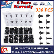 330 Clips Automotive Push Pins Retainers Assortment for Holden Ford Toyota Honda