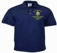 NAVAL SECURITY GROUP KUNIA* HAWAII *NAVY EMBROIDERED LIGHT WEIGHT POLO SHIRT