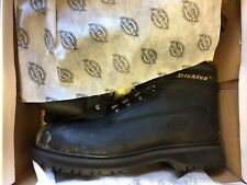 NEW IN BOX Dickies Mens Super Safety cent Boots Black Size 12 EUR 47 - FD23115