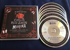 CARLOS RUIZ ZAFON MARINA 6 CD AUDIOBOOK IN MAGNIFICENT CONDITION