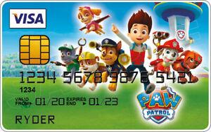 Paw Patrol Novelty Plastic Credit Card