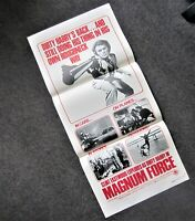 MAGNUM FORCE 1973 Movie Film Cinema Daybill Poster DIRTY HARRY Clint Eastwood