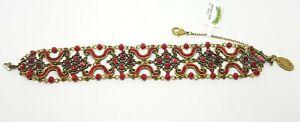 Bracelet beautiful Michal NEGRIN Swarovski Crystals Made in Israel