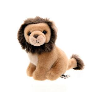 WWF Animal en Peluche Lion (14cm) Réaliste Tissu Félin Prédateur