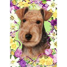 Easter Garden Flag - Lakeland Terrier 332341