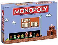 USAopoly Super Mario Bros MONOPOLY BOARD GAME, Collector's Edition BOARD GAMES