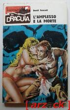 I RACCONTI di DRACULA 25 David Fawcett L'amplesso e la morte WAMP 1971