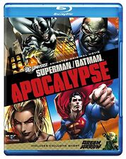 SUPERMAN BATMAN - APOCALYPSE (DC Comics) -  Blu Ray - Sealed Region free