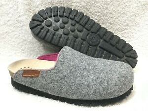 Mephisto Thea Wool Clogs Gray Women 40 / 10 ~ Nature is Future