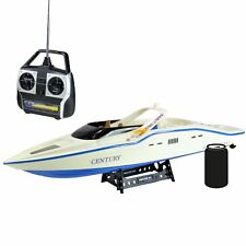 High Speed Radio Remote Control RC Century Racing Speed Boat White