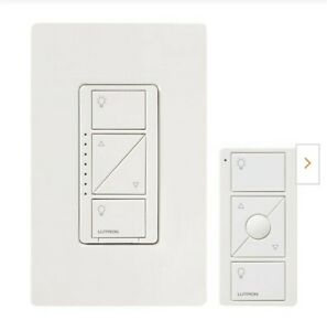 Caseta Wireless Smart Lighting Dimmer Switch and Remote Kit for Wall and Ceiling
