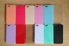 500 x all' ingrosso / Joblot iPhone 5 / S CANDY VARI COLORI RIGIDA custodie in plastica