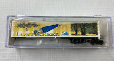 Deluxe Innovations/N Scale Collector Lost Creek Wine Road-Railer 53' Trailer New