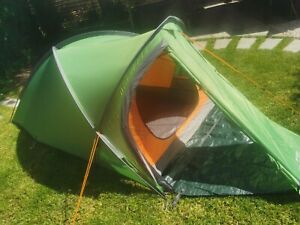 Vango Helvellyn 200 2 Person Tent + Vango Trek Tarp + Vango Gearstore - Green