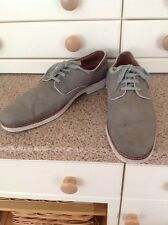 GREAT MOMENTUM ESQUIRE MENS KHAKI SHOES UK SIZE 12 WORN SOME MARKS