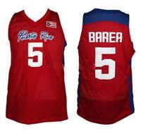 Jose JJ. Barea Team Puerto Rico Basketball Jerseys Stitched Custom Names