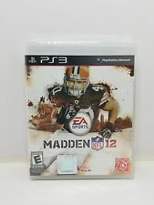 Madden NFL 12  (Sony Playstation 3, 2011) NEW FREE SHIPPING